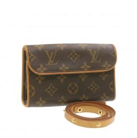 LOUIS VUITTON Monogram Pochette Florentine Bum Bag M51855 LV Auth 18667