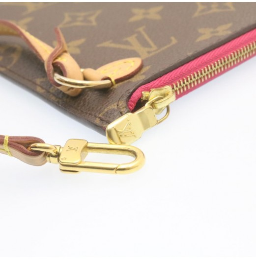 LOUIS VUITTON Monogram Neverfull MM Pouch LV Auth im095
