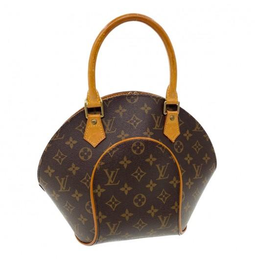 LOUIS VUITTON Monogram Ellipse PM Hand Bag M51127 LV Auth pg1330 JUNK