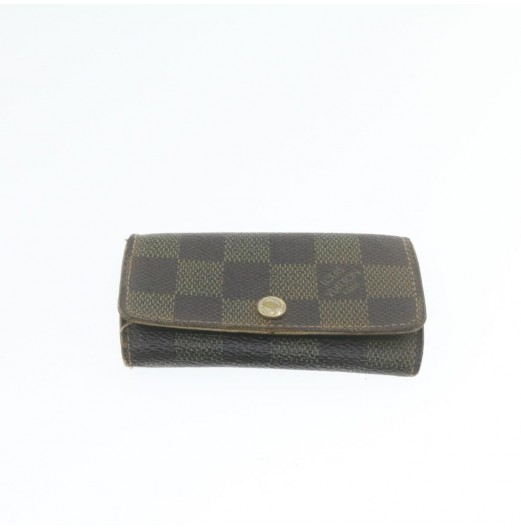 LOUIS VUITTON Damier Ebene Epi Wallet Key Case 5Set LV Auth th1072